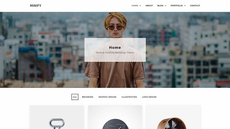 Minify WordPress Theme