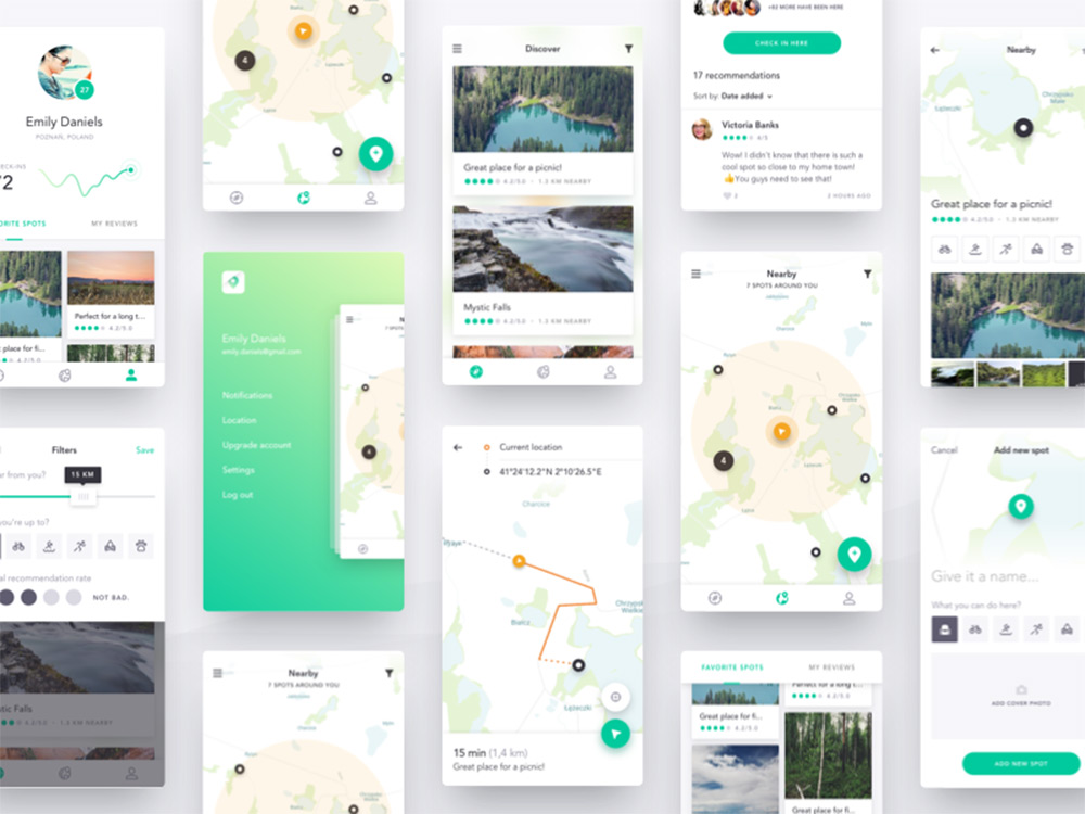 10 Free Mobile UI Kits For Sketch - 1stWebDesigner