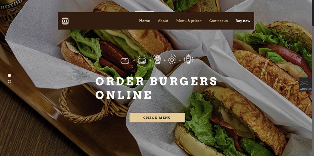 For clients working in the catering industry: Be Burger