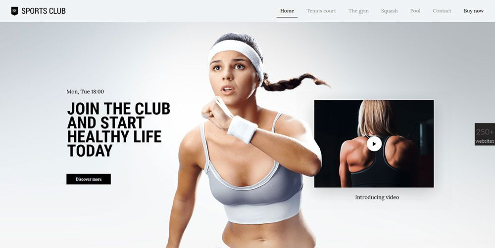 For clients in the fitness & wellness industry: Be Sports club