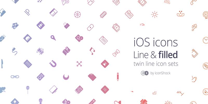 iOS Line Icons