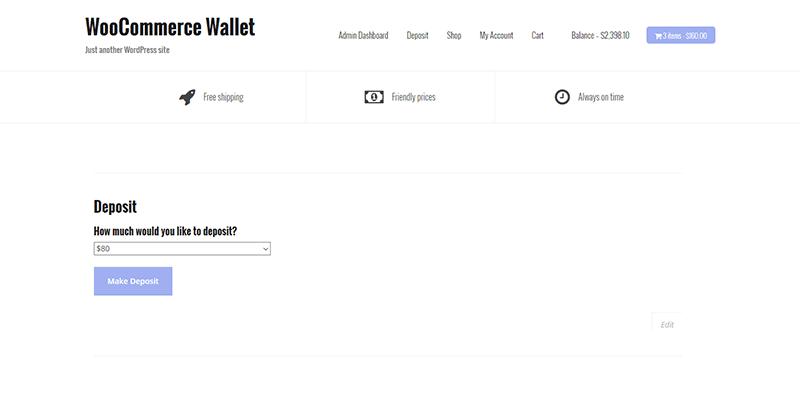 WooCommerce Wallet