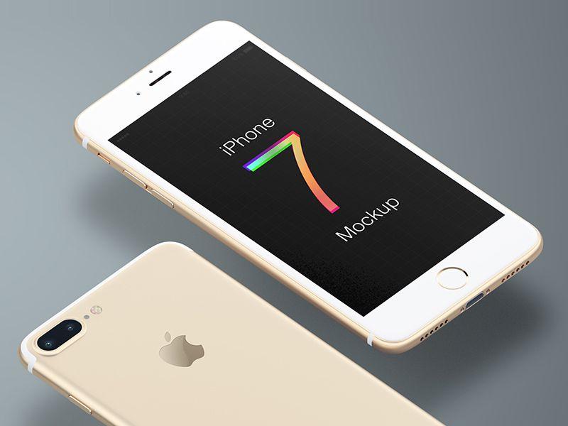 Trendy iPhone 7 Mockup