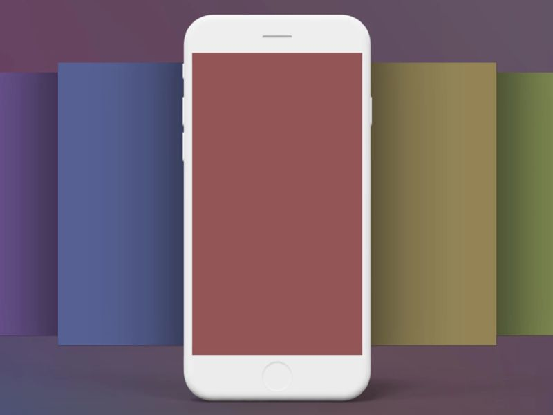 Animated iPhone Mockup Templates