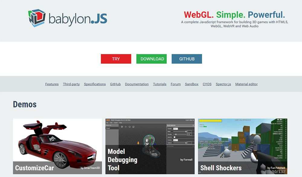 The Top 3D JavaScript Libraries For Web Designers