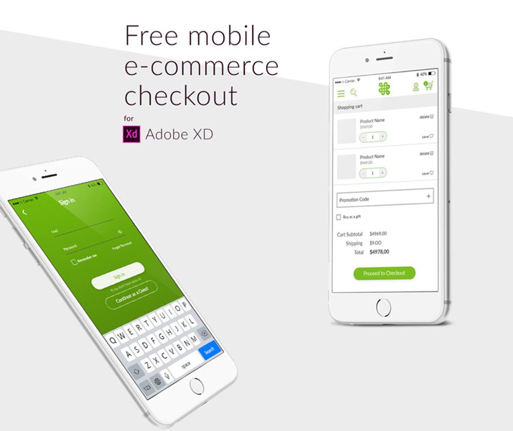 The Best Adobe XD Mobile App Freebies for UI Designers - 1stWebDesigner