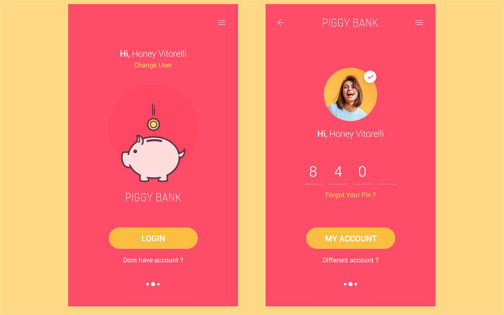 piggy bank app freebie
