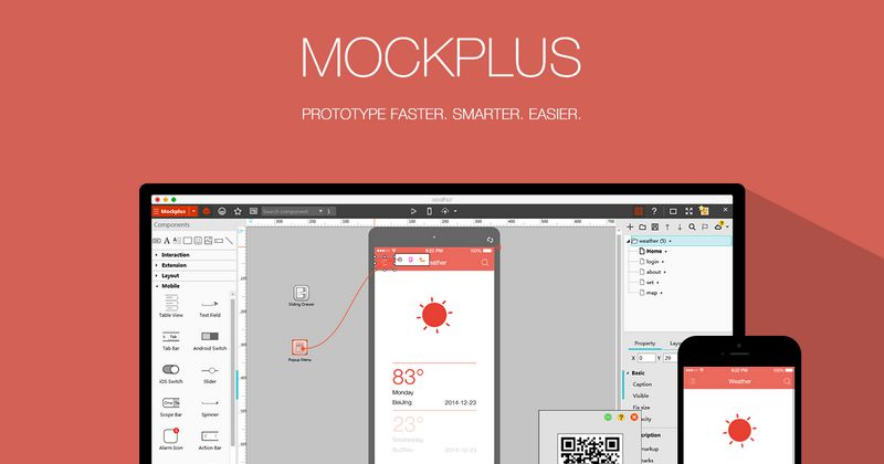 Mockplus is a Truly Code-Free WYSIWYG Prototyping Experience