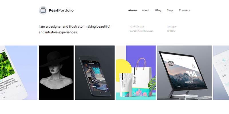 Pearl Portfolio