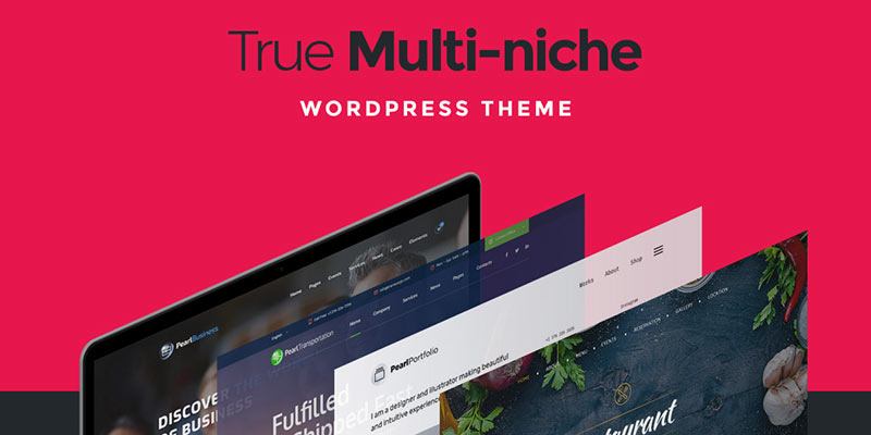 Pearl is a True Multi-Niche WordPress Theme