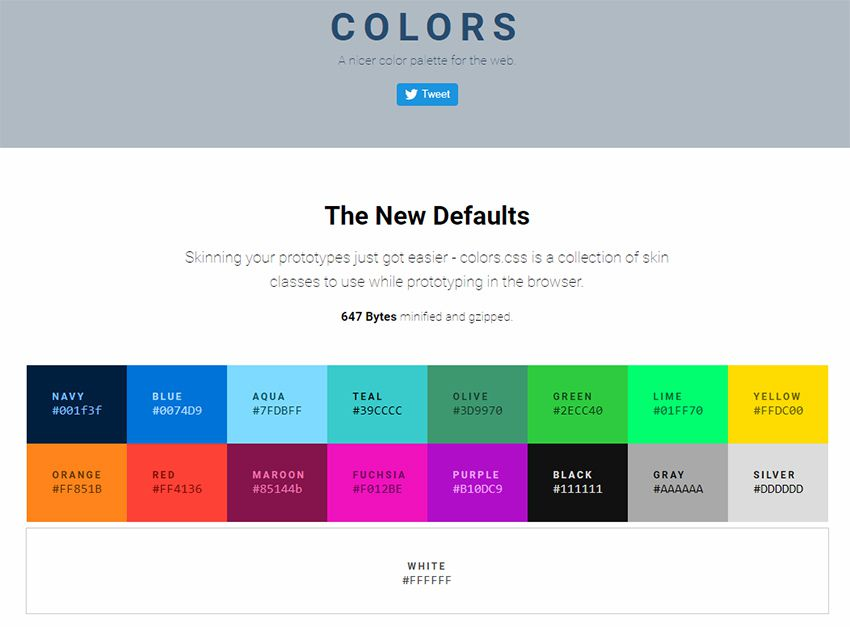 Top 12 web based color tools for web designers for Css page color