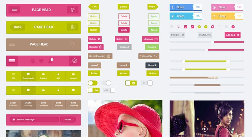 flatto ui kit bootstrap