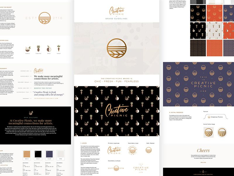 Melissa Branding Presentation Design inspiration