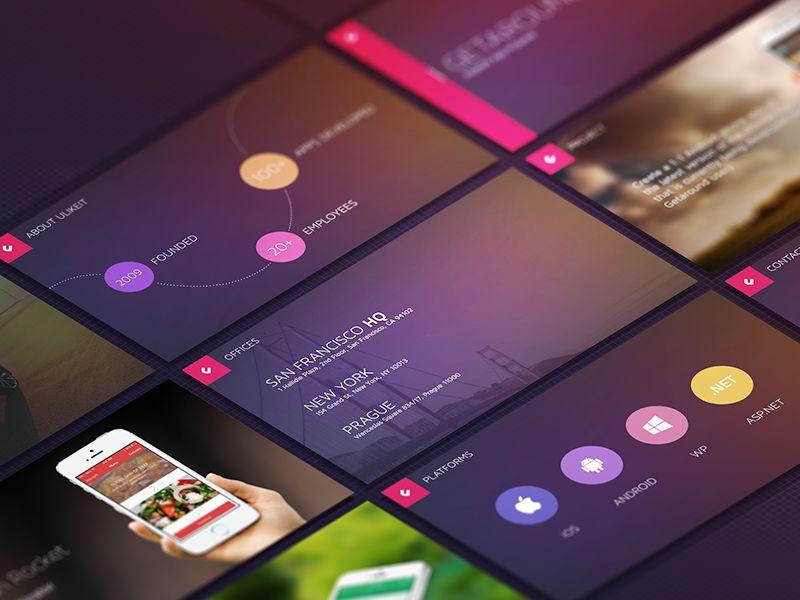 uLikeIT Keynote Slides Branding Presentation Design inspiration