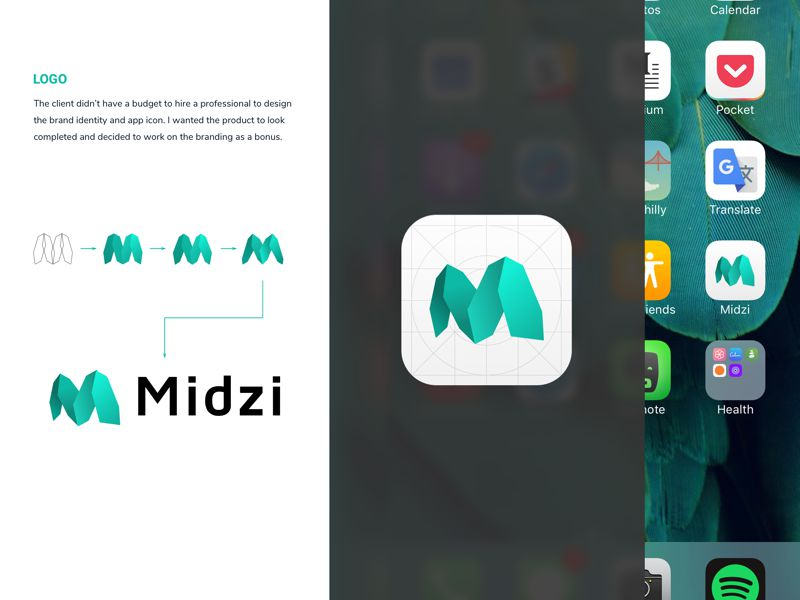 Midzi iOS 11 App Icons inspiration