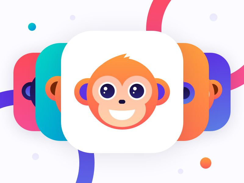 Monkey.Cool iOS 11 App Icons inspiration