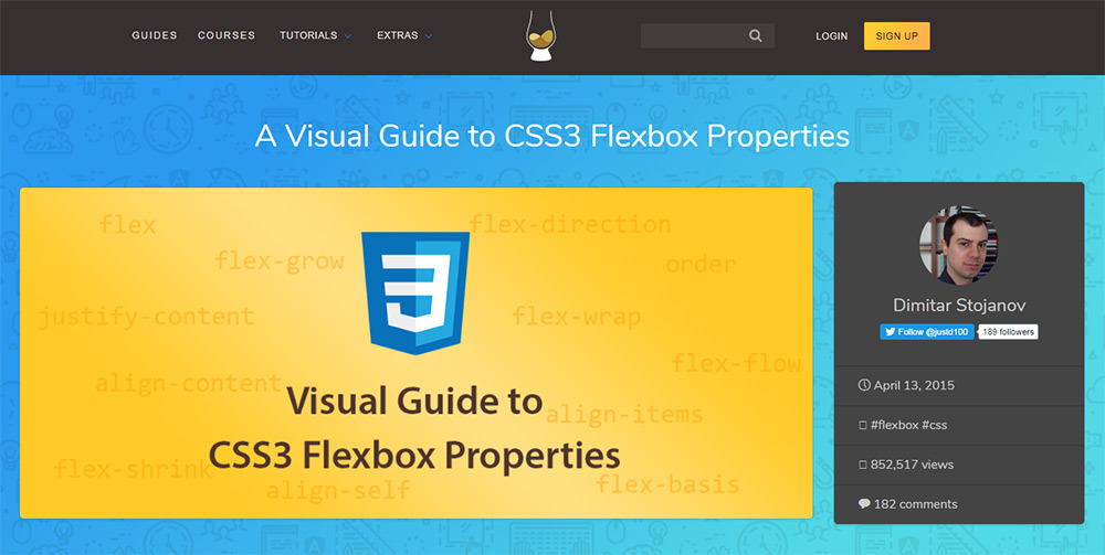 flexbox visual tut