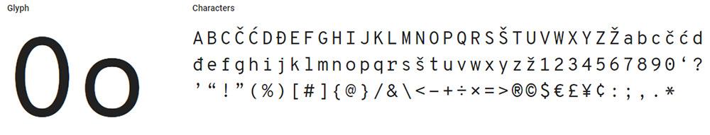 overpass mono font