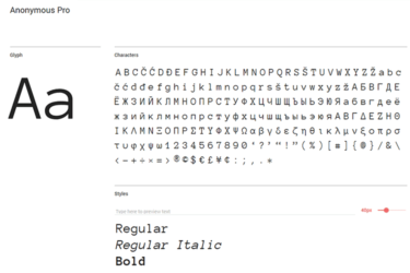 10 Best Free Monospaced Fonts For Code Snippets