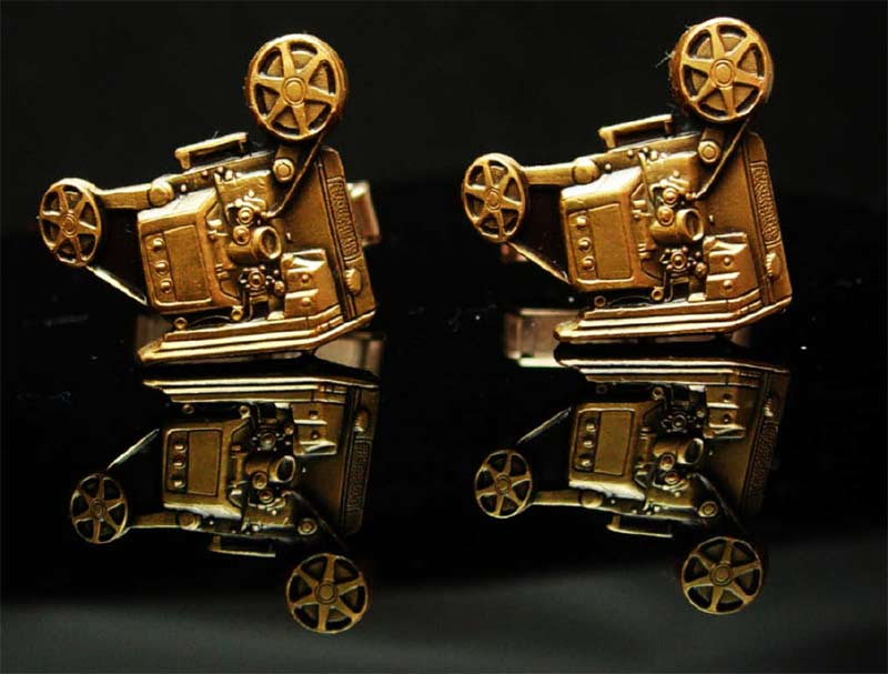 Movie Producer Cufflinks