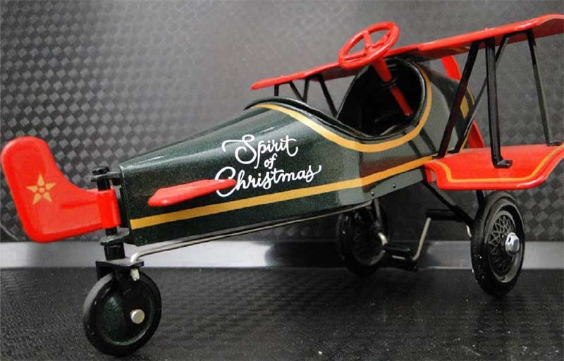 Airplane Pedal Car WW1 Vintage Military Aircraft