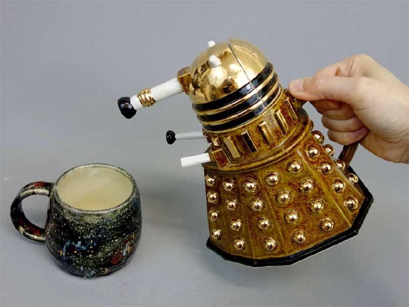 Dalek Teapot