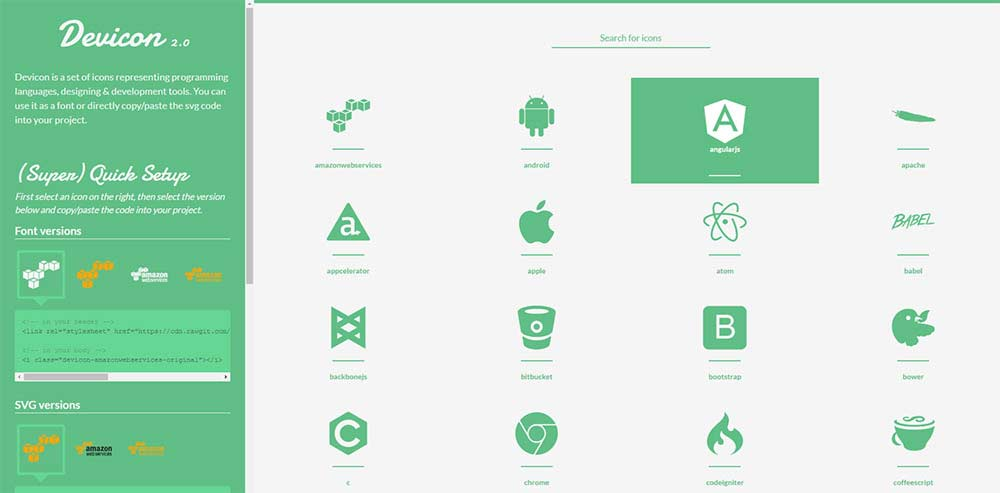 11 Free SVG Icon Libraries and Icon Fonts - 1stWebDesigner