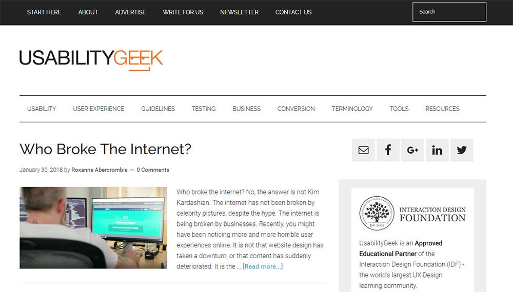 Top 10 UX Blogs That All Web Designers Should Read