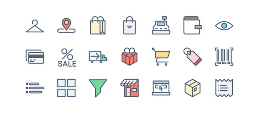 Shipping and Ecommerce Icons