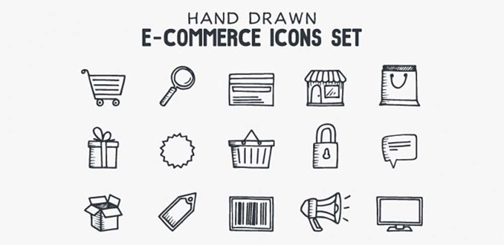 Hand-Drawn Icons Set