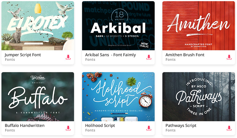 The 150+ Best Modern Fonts Collection for 2019