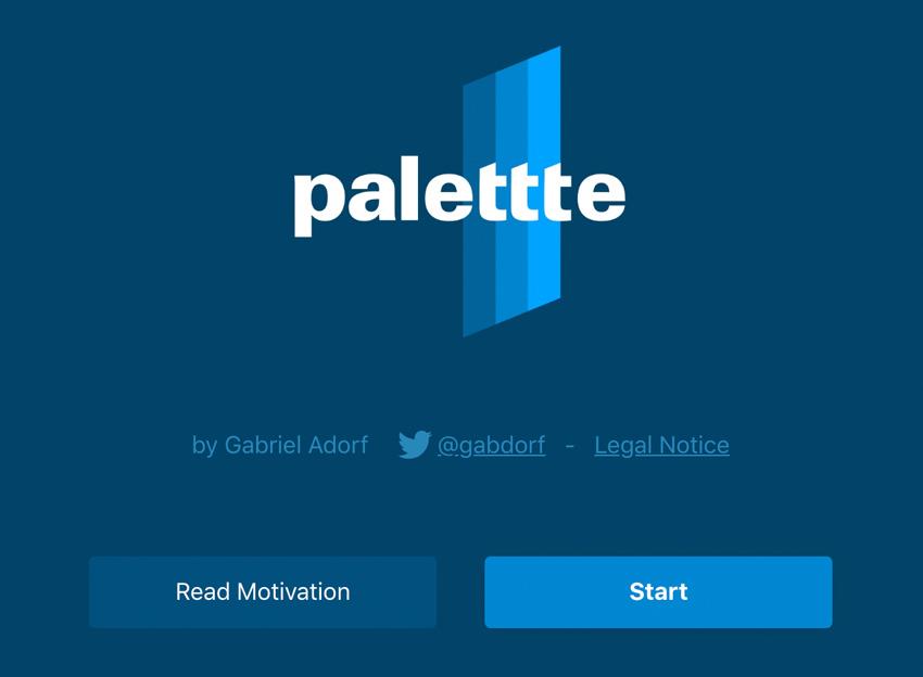 color palettte app