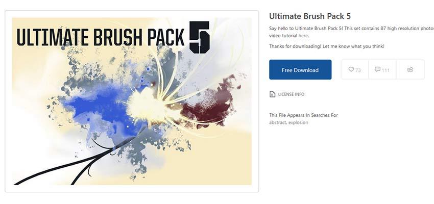 Ultimate Brush Pack 5