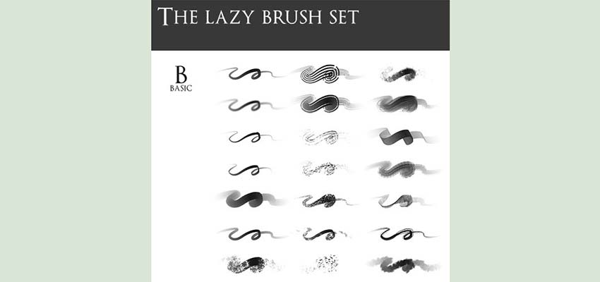 lazy brush set
