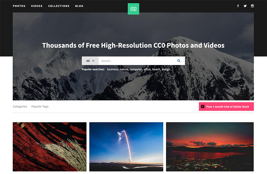ISO Republic - free stock photography