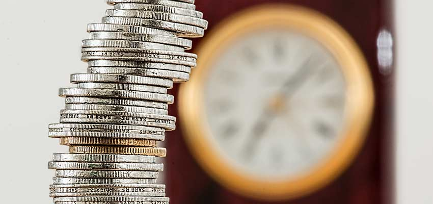Coins and Clock