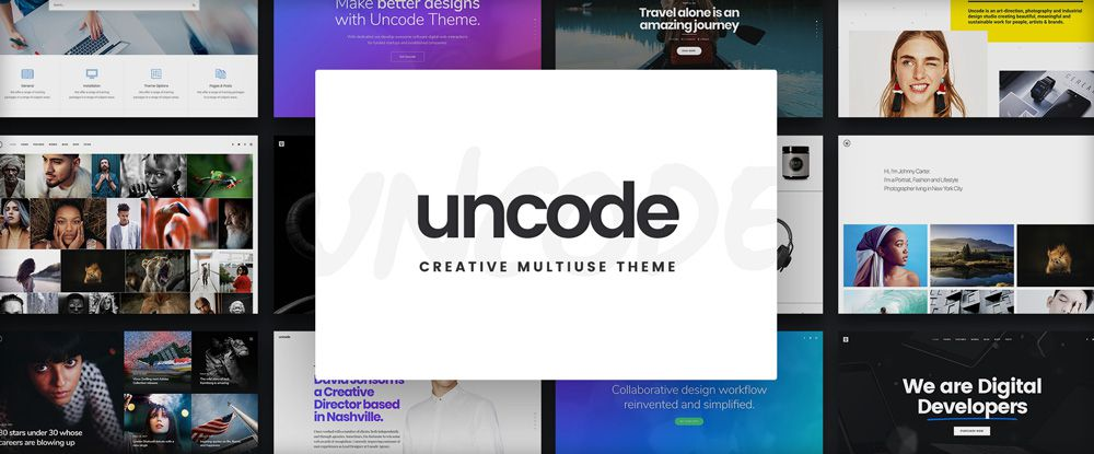 Uncode – Creative Multiuse WordPress Theme
