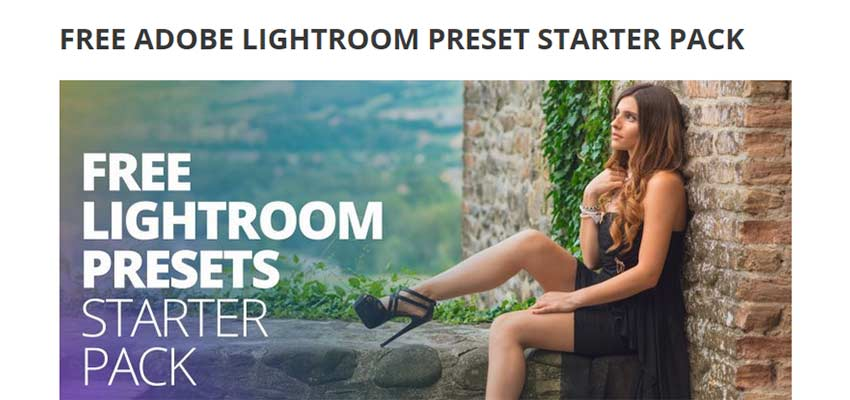 Best Free Lightroom Presets by Sleeklens