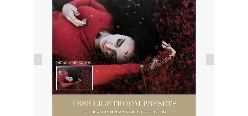 Free Lightroom Presets by BeArt