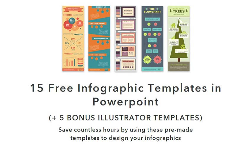 15 Free Infographic Templates by Hubspot
