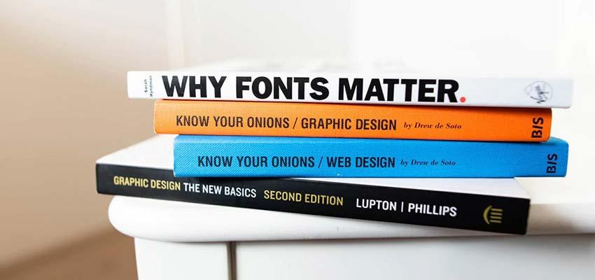 Sans-serif font examples