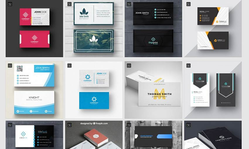 Promote Yourself With These Free Business Card Templates