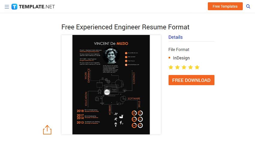 stand out with these free resume templates