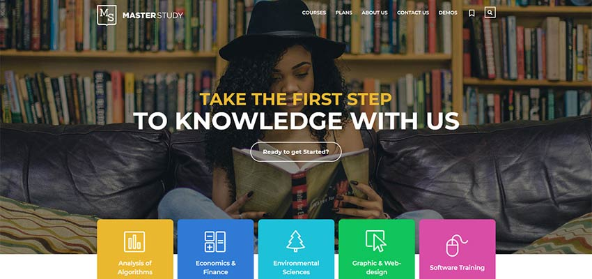 Masterstudy Offline Course Demo Homepage