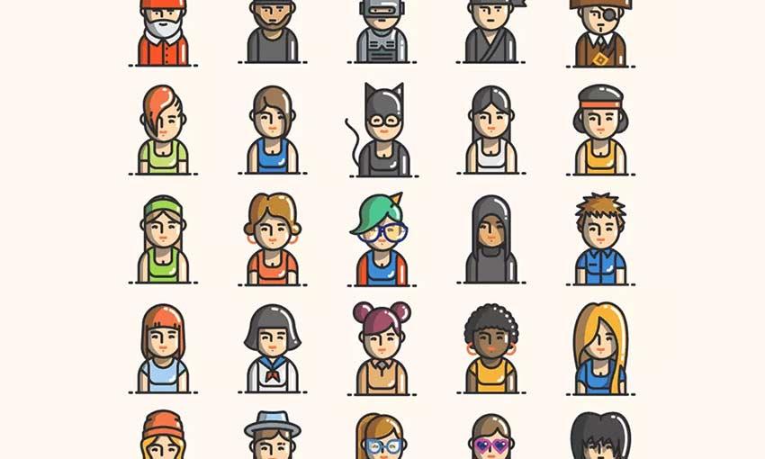 Free 50 Avatars