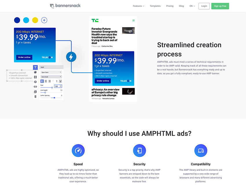 Bannersnack is an Online Design Tool for Professionals | The