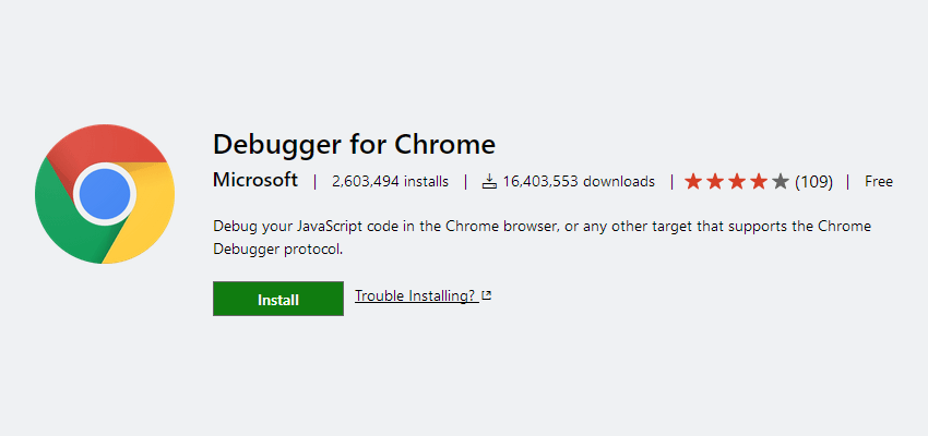 Debugger for Chrome