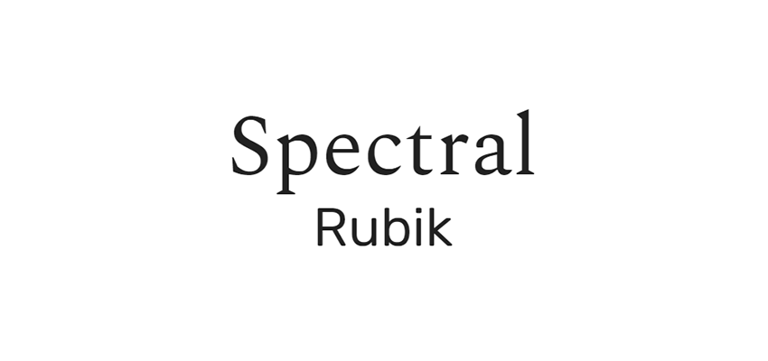 Spectral and Rubik