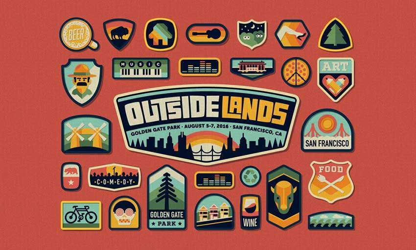 Outside Lands 2016 Festival Branding