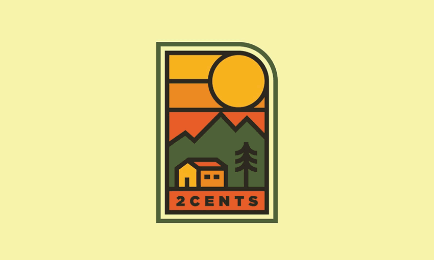 2 Cents Badge